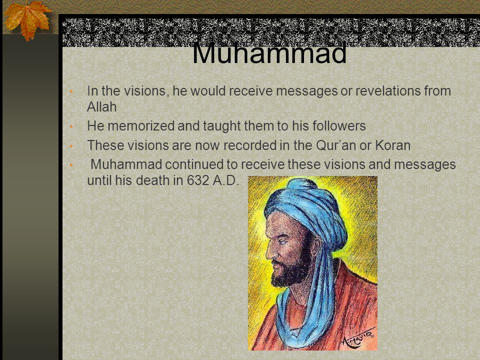 Muhammad Muhammad's new faith was not widely accepted in his hometown of Mecca He and his followers moved to Medina – Medina means City of the Prophet This movement is know as the Hijirat or the flight It marks as the turning point in Islam and serves as the beginning date on Islamic calendars