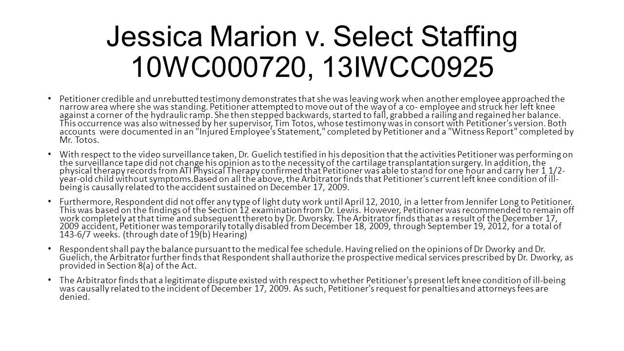 Jessica Marion v.