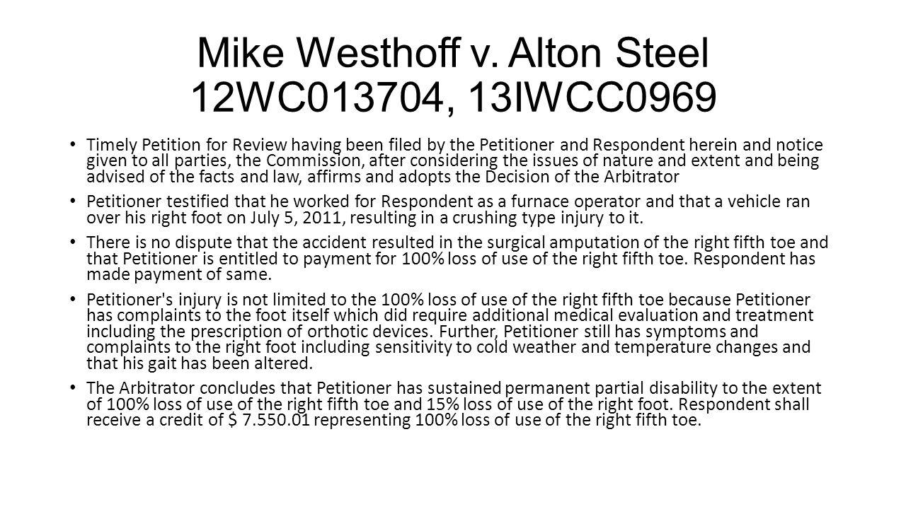 Mike Westhoff v.