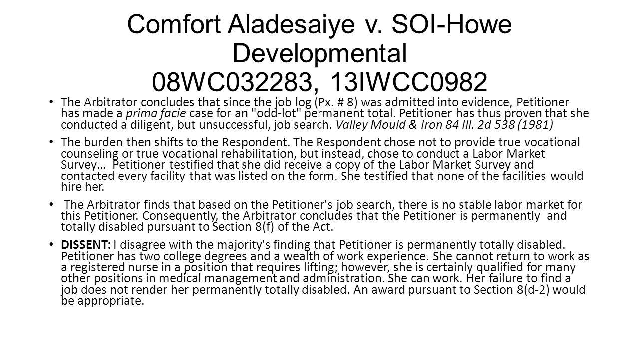 Comfort Aladesaiye v.