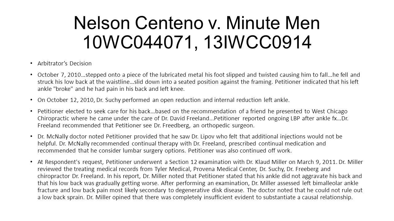 Nelson Centeno v.