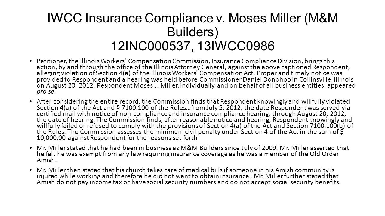 IWCC Insurance Compliance v.