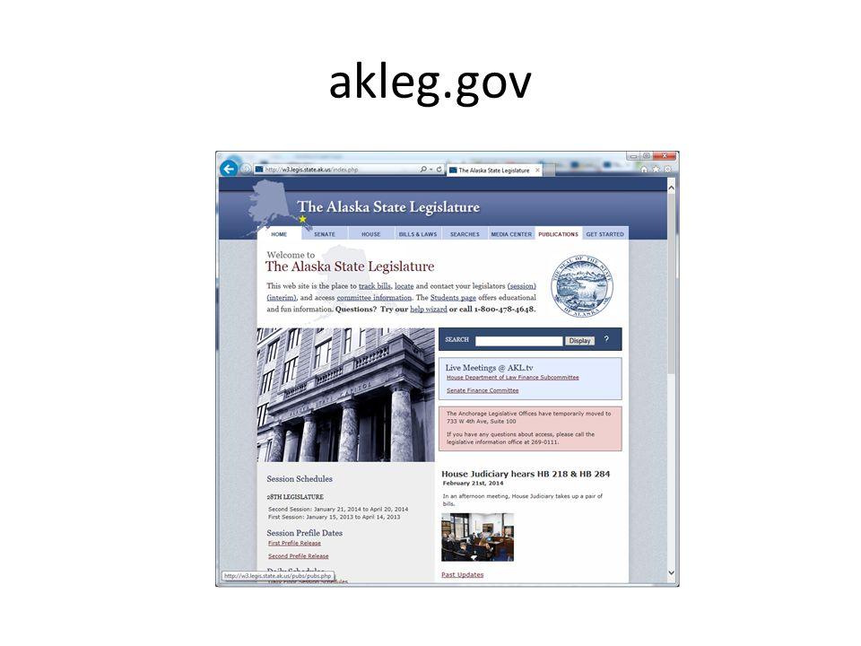 akleg.gov