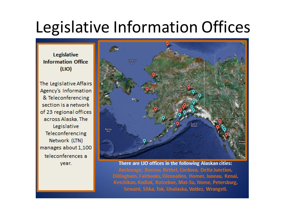 Legislative Information Offices