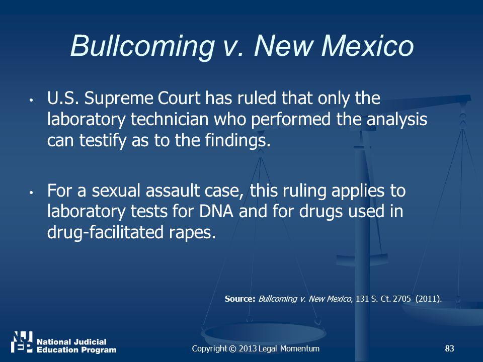 83 Bullcoming v.New Mexico U.S.