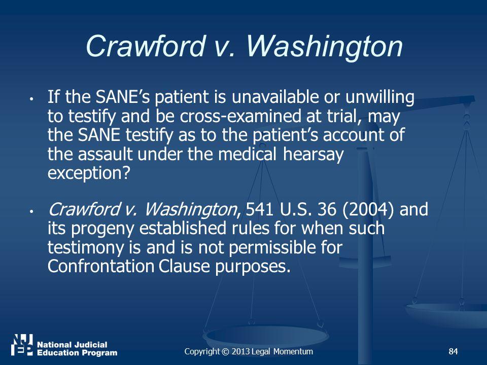 84 Crawford v.