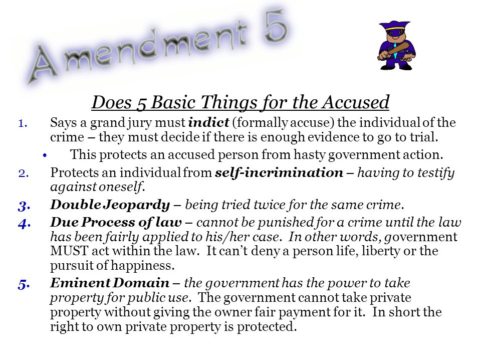 Protects citizens from unreasonable searches & seizures.