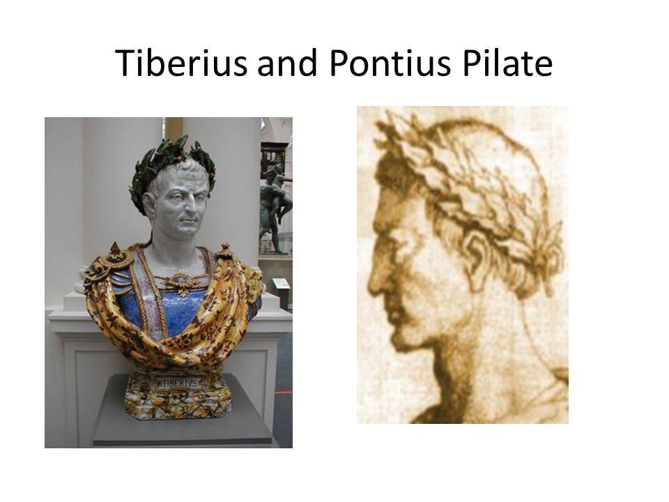 Tiberius and Pontius Pilate