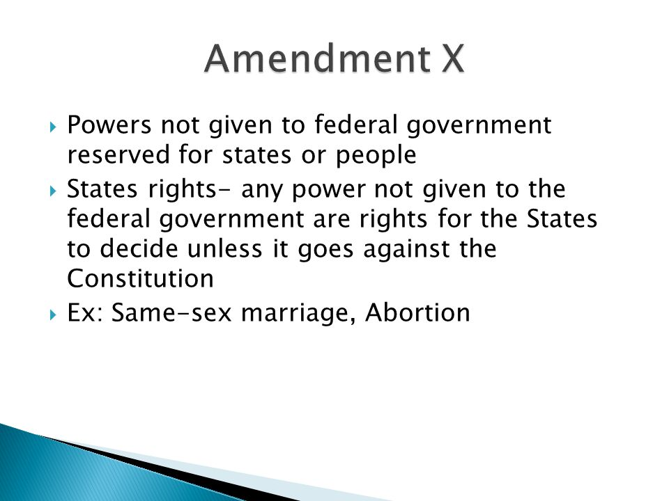 Rights Reserved To States Or People people   States rights-