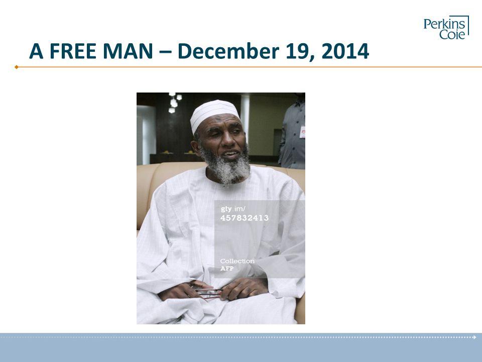 A FREE MAN – December 19, 2014