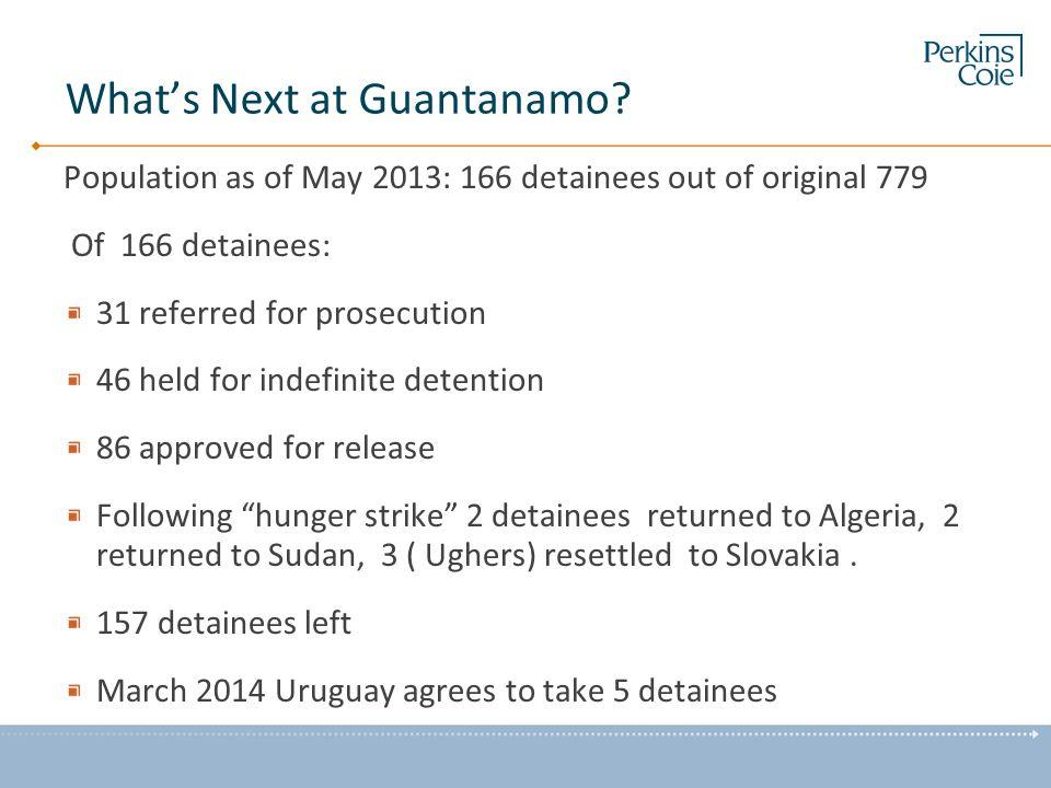 What's Next at Guantanamo.