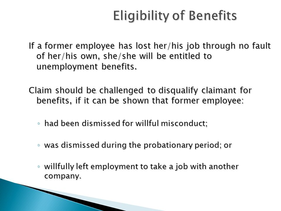 Eligibility of Benefits Documentation is Critical.