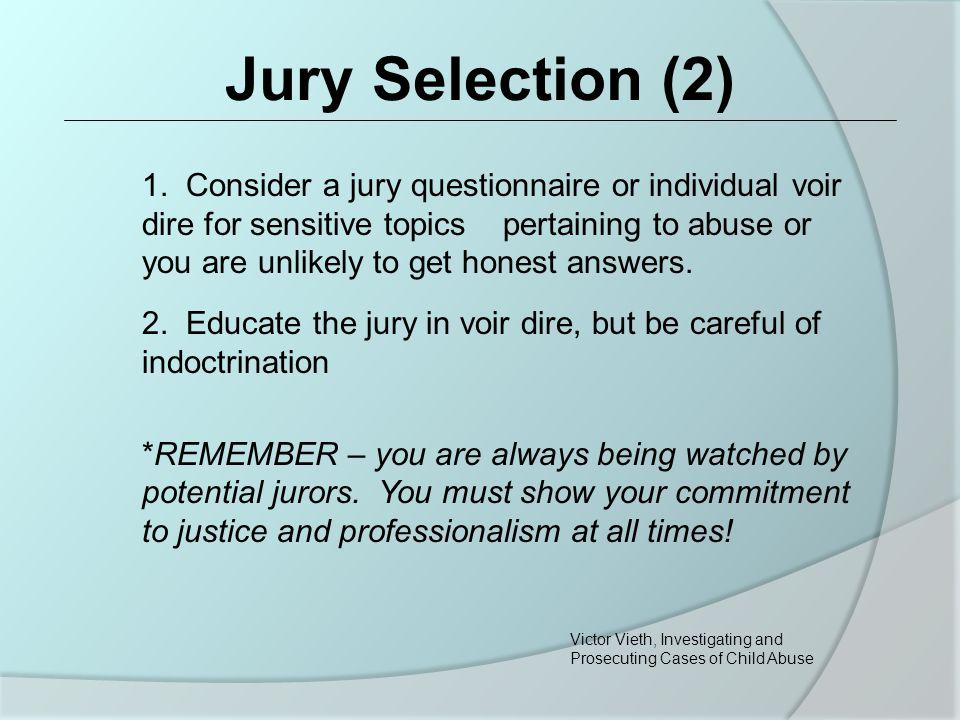 Jury Selection (2) 1.