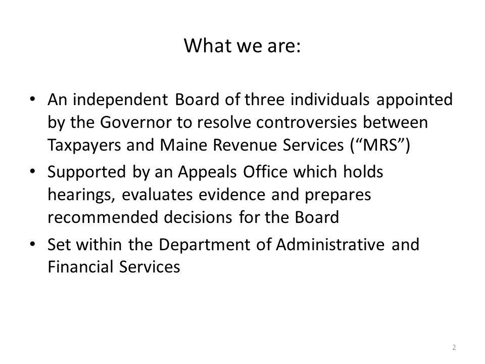 Who we are: Board Members William J. Kelleher- Chair Edwin A Heisler Richard A. Nass 3