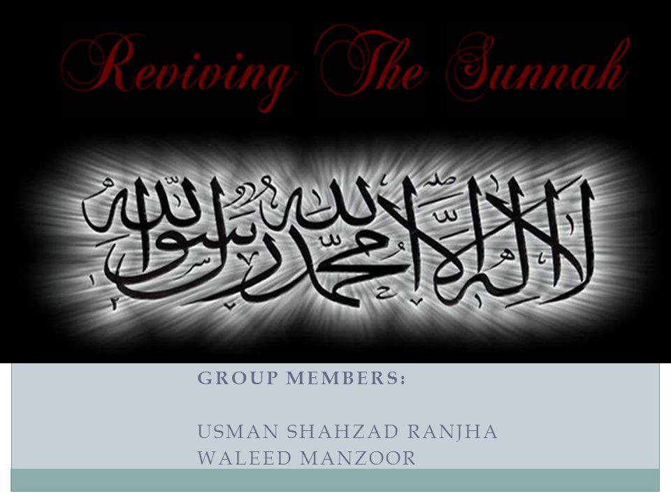 GROUP MEMBERS: USMAN SHAHZAD RANJHA WALEED MANZOOR