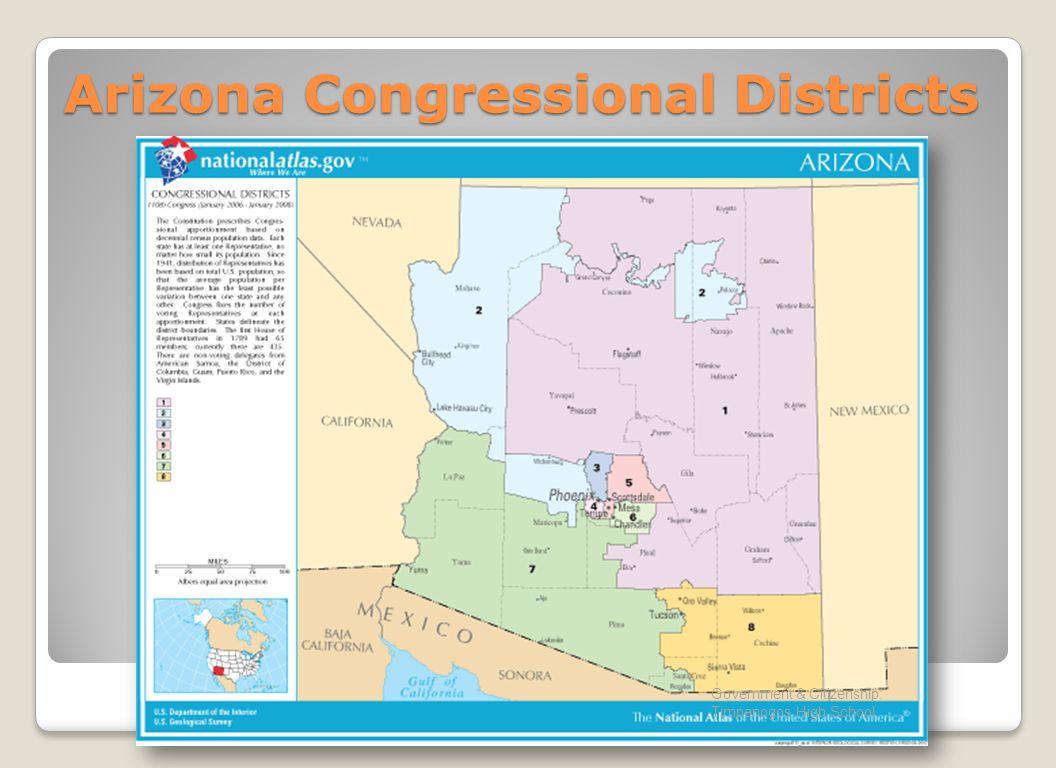 Arizona Congressional Districts Government & Citizenship: Timpanogos High School