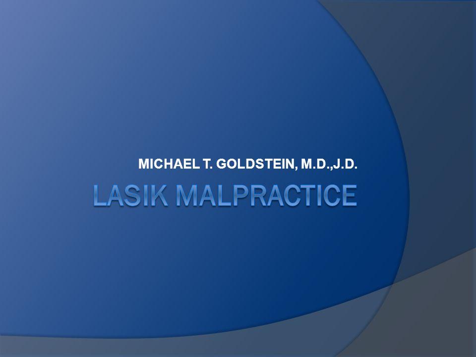 MICHAEL T. GOLDSTEIN, M.D.,J.D.