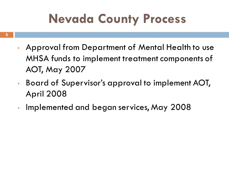 Contact Information 36 Michael Heggarty, MFT Nevada County Behavioral Health michael.heggarty@co.nevada.ca.us Carol Stanchfield, MS, LMFT Turning Point Providence Center carolstanchfield@tpcp.org Honorable Judge Thomas Anderson Nevada County Superior Court Tom.Anderson@nevadacountycourts.com