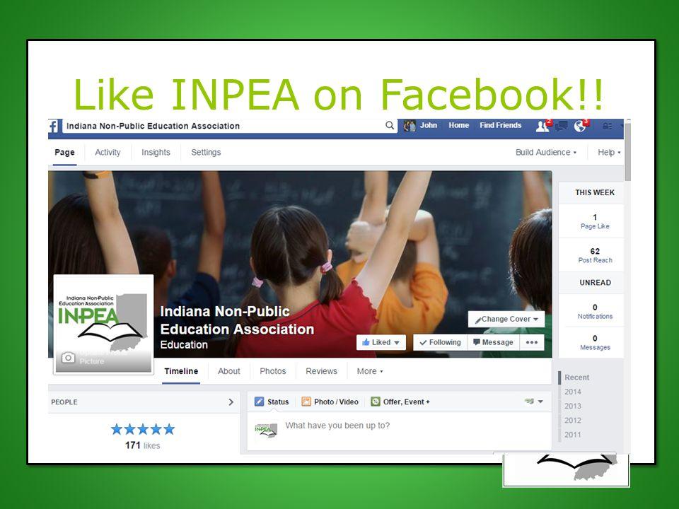 Like INPEA on Facebook!!