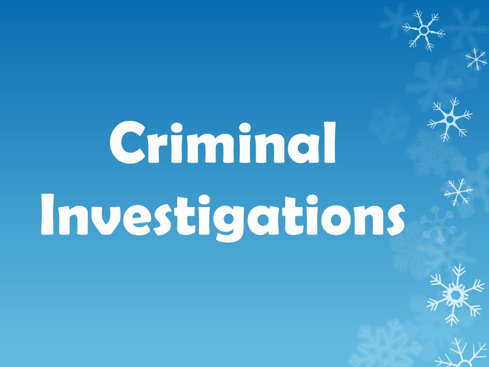 Investigators should approach the crime scene investigation as if it will be their only opportunity to preserve and recover… physical clues.