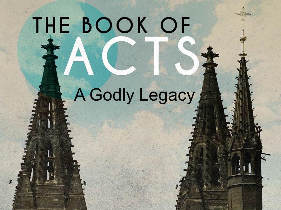 A Godly Legacy