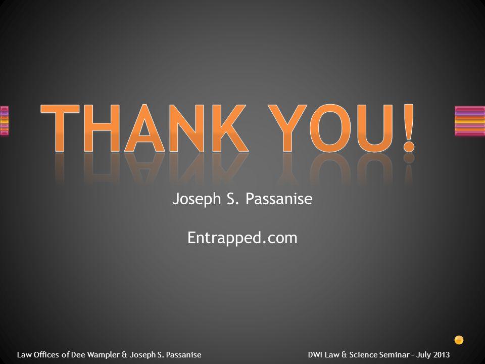 Joseph S. Passanise Entrapped.com