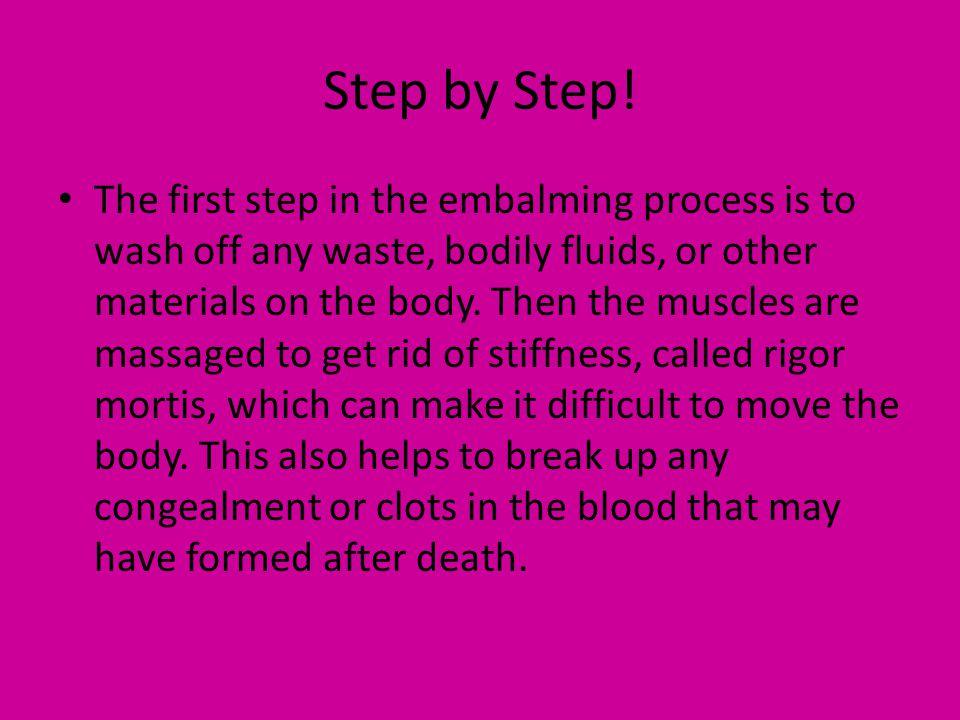 Step by Step.