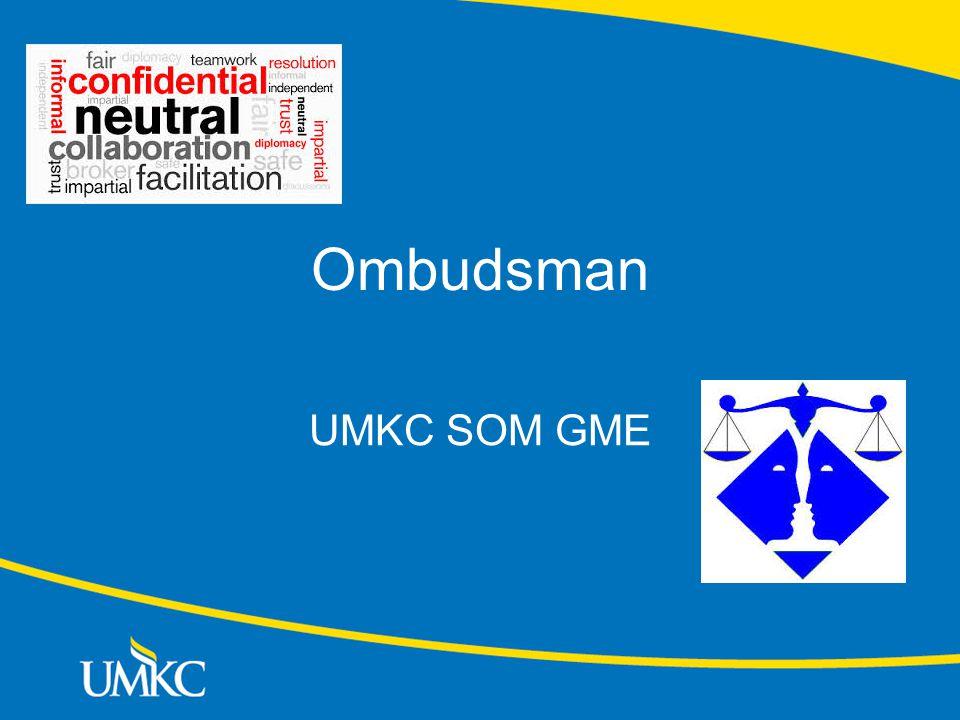 Ombudsman UMKC SOM GME