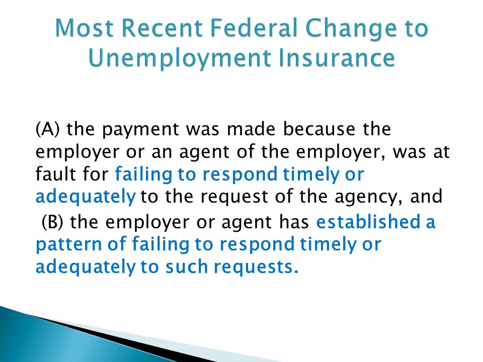 (A) the payment was made because the employer or an agent of the employer, was at fault for failing to respond timely or adequately to the request of the agency, and (B) the employer or agent has established a pattern of failing to respond timely or adequately to such requests.
