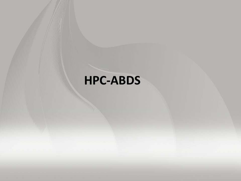 Using HPC-ABDS Layers II 3)Security & Privacy II LDAP is a simple database (key-value) forming a set of distributed directories recording properties of users and resources according to X.500 standard.
