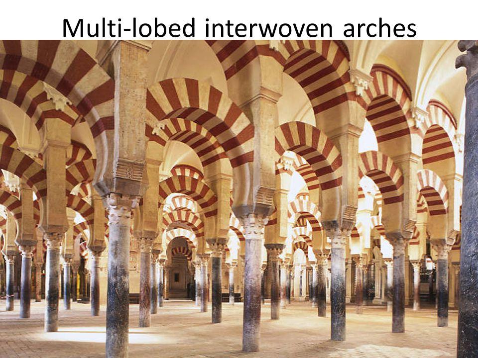Multi-lobed interwoven arches
