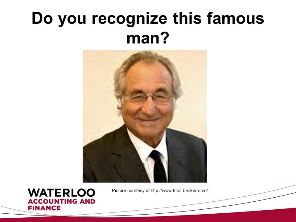 Do you recognize this famous man Picture courtesy of http://www.total-banker.com/
