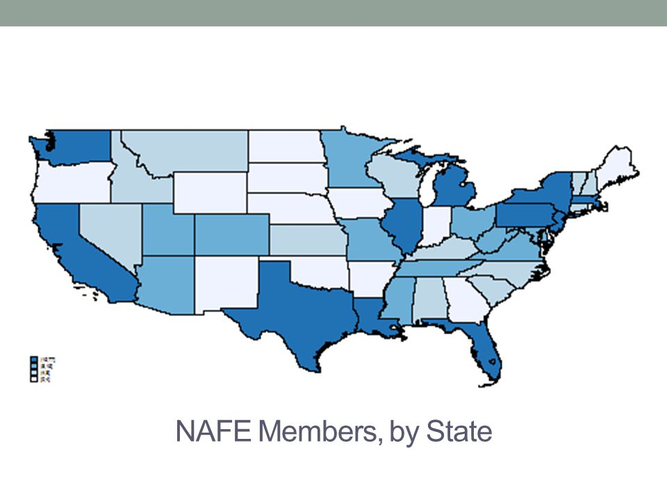 NAFE Members, by State