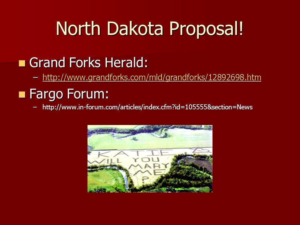 North Dakota Proposal.