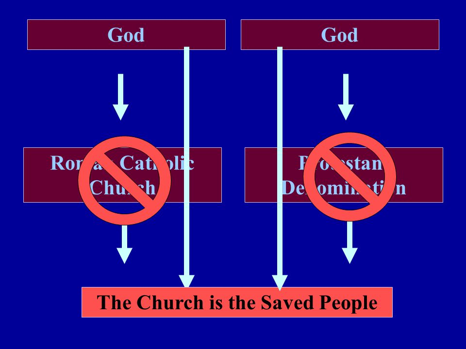 Roman Catholic Church Protestant Denomination God The Church is the Saved People