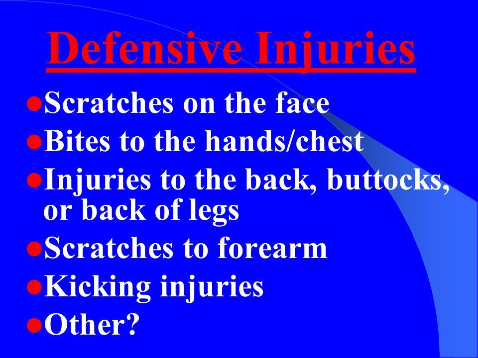 Defensive Actions
