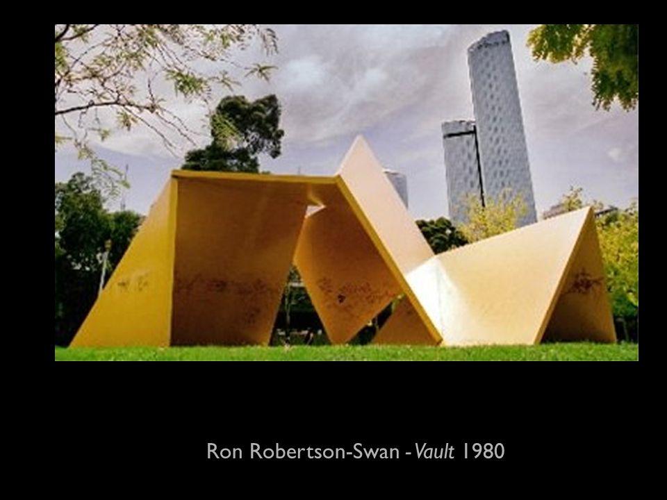 Ron Robertson-Swan - Vault 1980