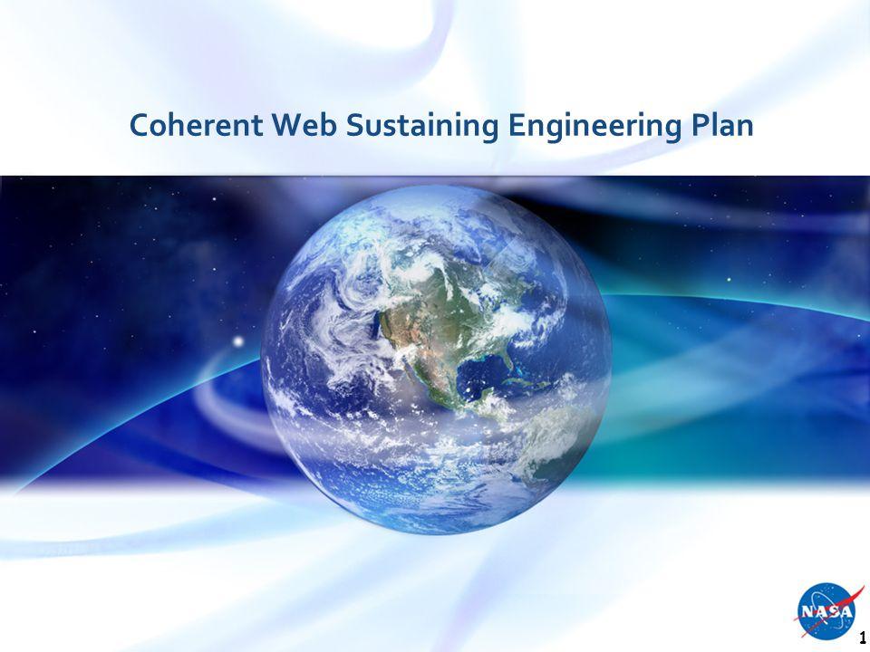 Coherent Web Sustaining Engineering Plan 1