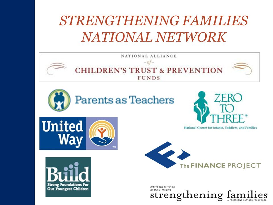 STRENGTHENING FAMILIES NATIONAL NETWORK