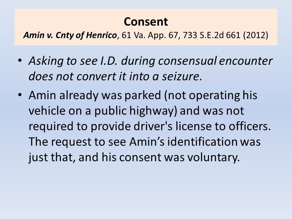 Testimony on Field-Test Identification HB 1376 - Amends Va.