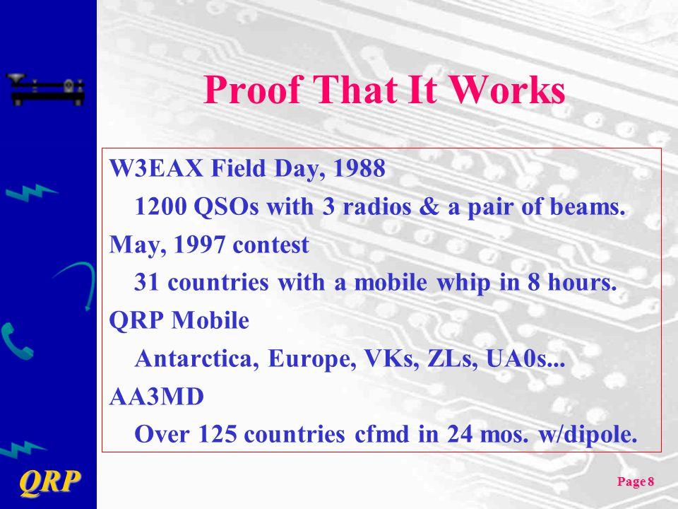 QRP Page 39 Heathkit HW-8 4 band direct conversion CW QRP rig 4 band direct conversion CW QRP rig