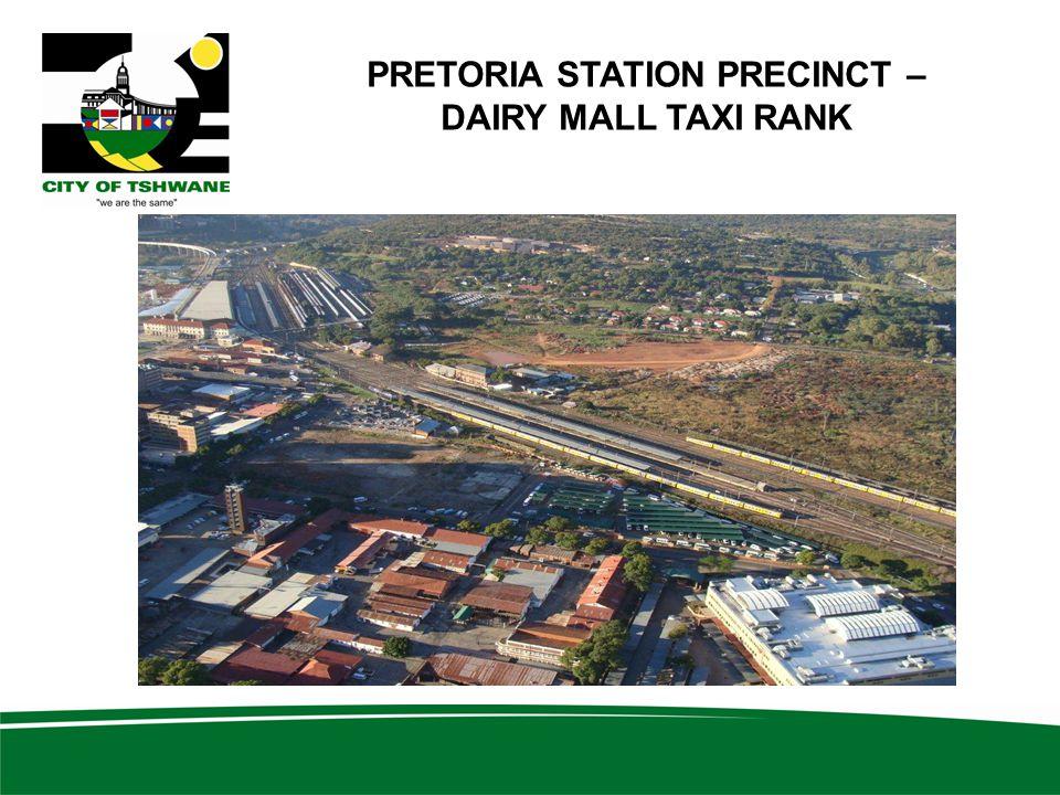 PRETORIA STATION PRECINCT – DAIRY MALL TAXI RANK