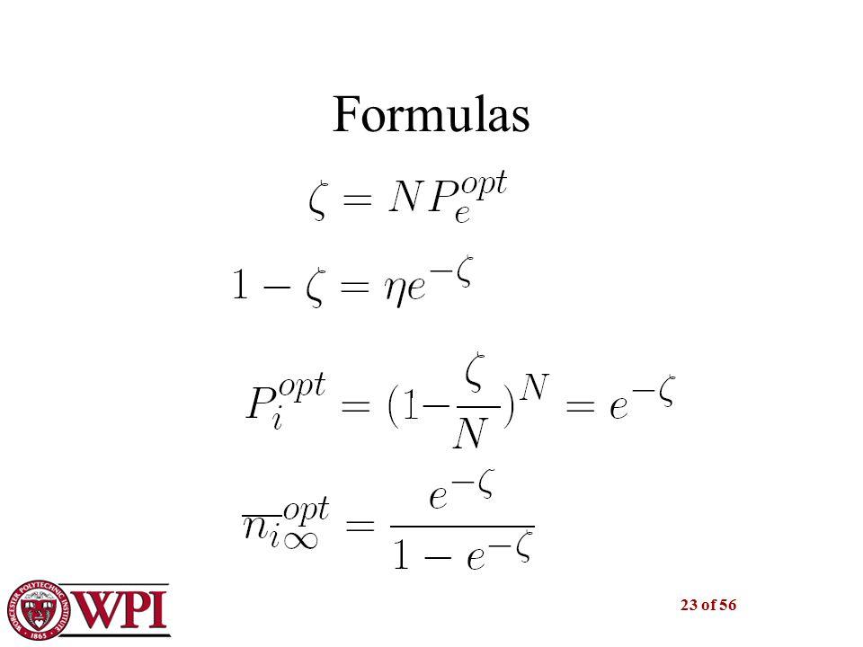 23 of 56 Formulas