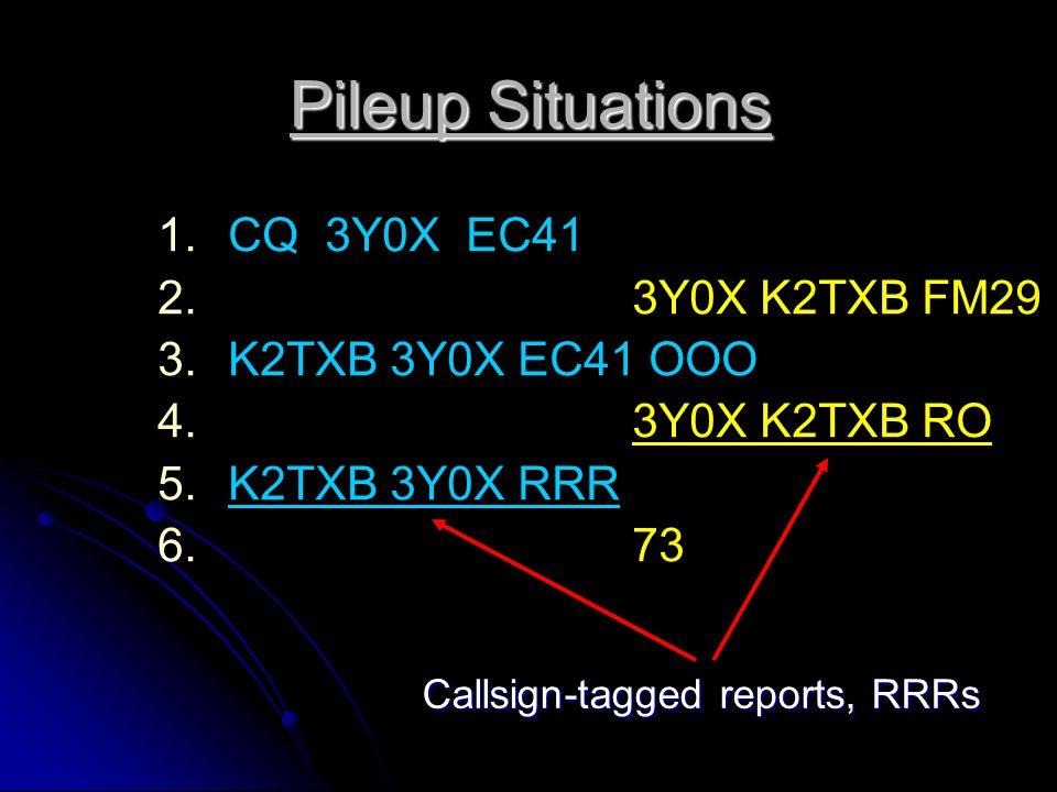 JT65 Minimal EME QSO 1. 1.CQ HB9Q JN47 2. 2. HB9Q K1JT FN20 3. 3.K1JT HB9Q JN47 OOO 4. 4. RO 5. 5.RRR 6. 6. 73