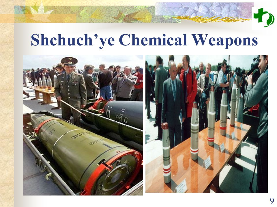 9 Shchuch'ye Chemical Weapons