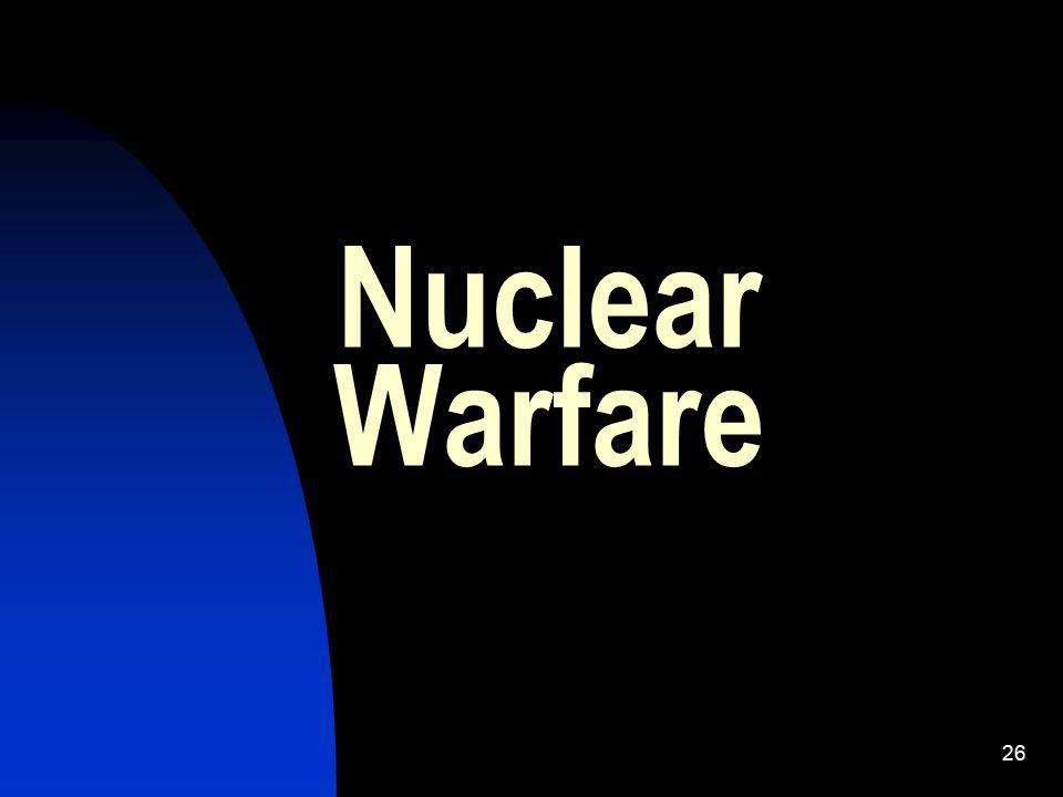 26 Nuclear Warfare