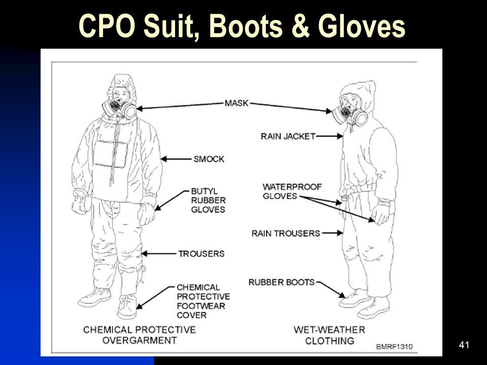 41 CPO Suit, Boots & Gloves