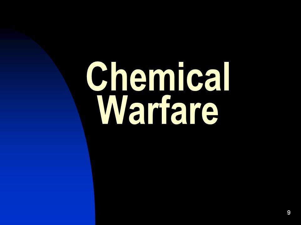 9 Chemical Warfare