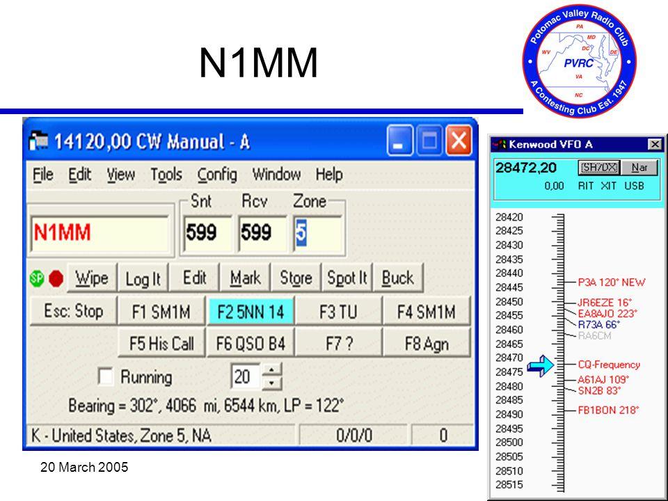 20 March 2005 N1MM