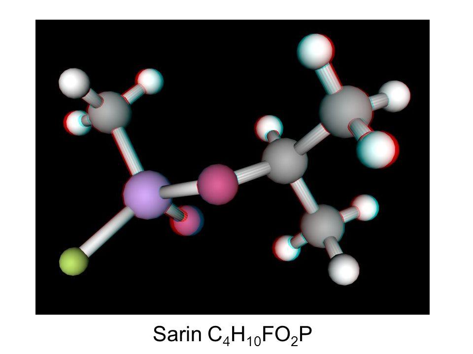 Sarin C 4 H 10 FO 2 P